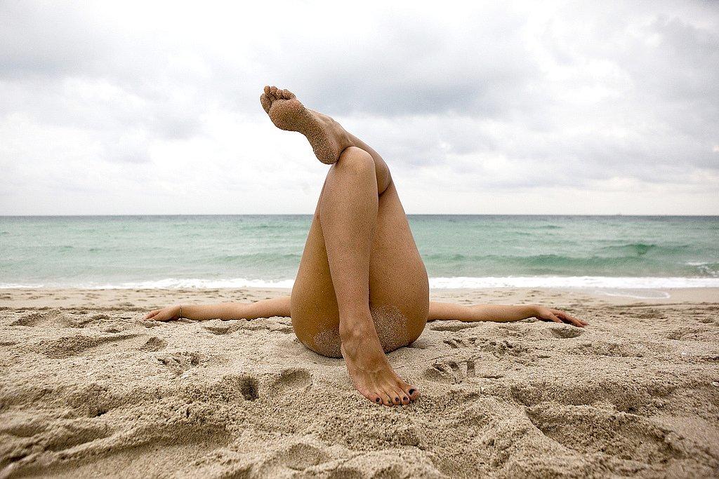 Порно сосущие на пляже вошли большое